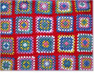 blanket Crochet granny squares Pinterest