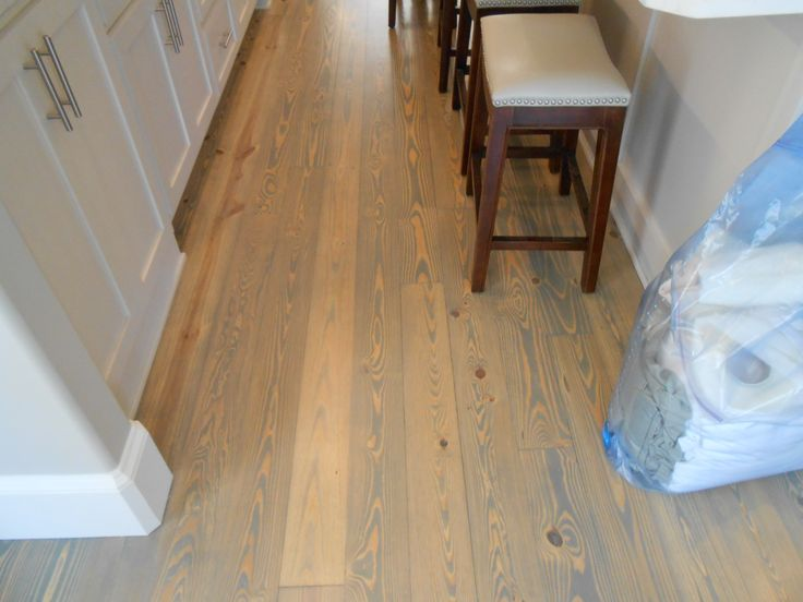 Southern Yellow Pine Floor This Is My New