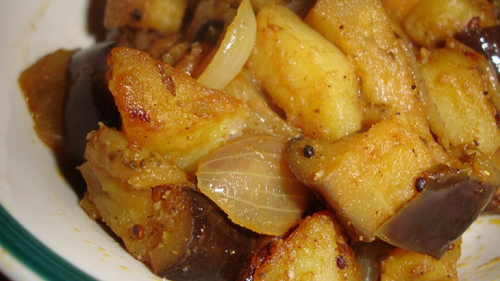 Curry Eggplant and Mango Chutney | noms | Pinterest