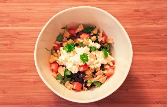 Black Bean Burrito Bowl | Cheese&Healthy Things | Pinterest