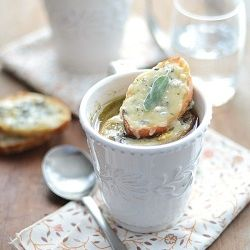 Onion and Sage Soup with Aged Cheddar & Sage Toast. | Yummy stuff ...