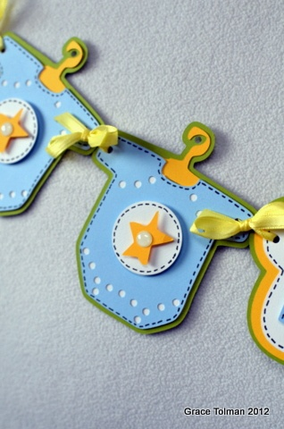 Baby Shower ideas using CM Cricut