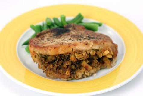 Herb-Stuffed-Chops-   Crock Pot: Pork   Pinterest