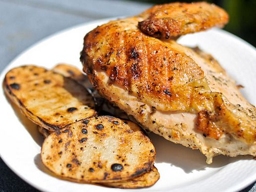Cornell Chicken (Grilled Chicken With White Barbecue Sauce) | Recipe