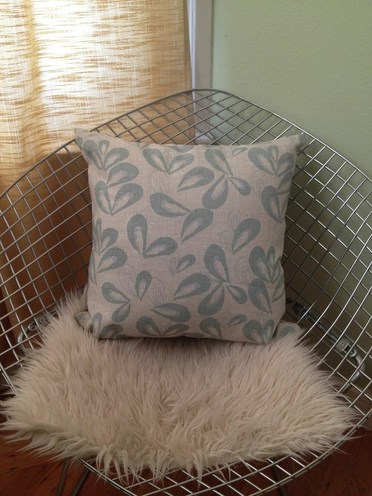 our michelle pillow in smoked bluefish pate color way sitting pretty ...