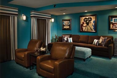 Media room color schemes best home decoration Home theater colors