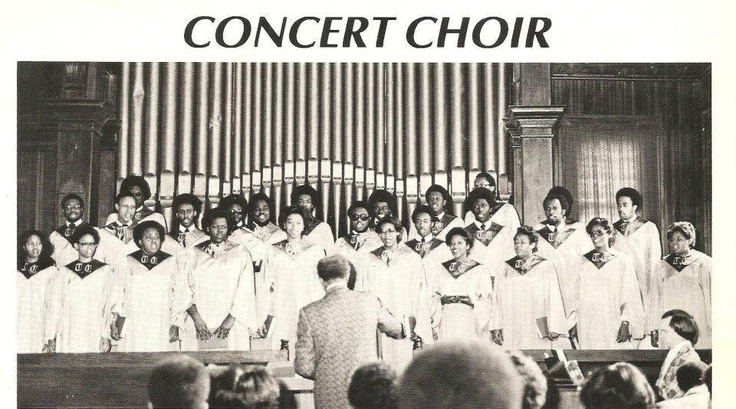 Tougaloo College Concert Choir, 1977.
