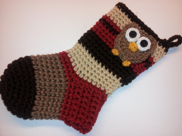 Crochet Xmas Stocking : Poochie Baby Crochet Designs: Crochet Christmas Stockings