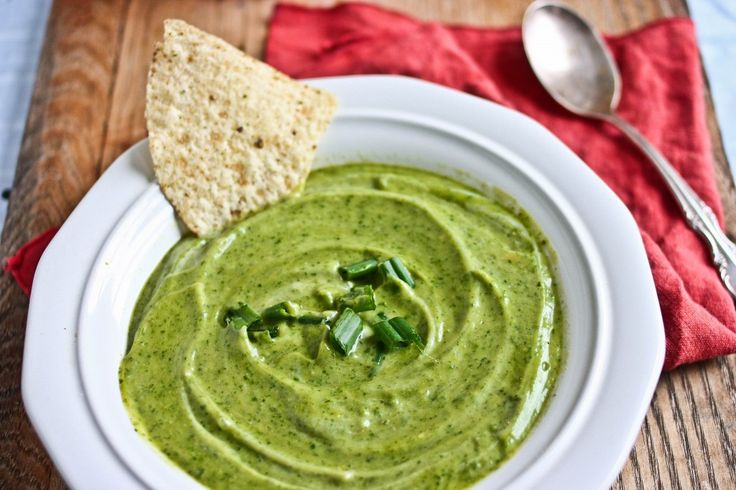Guacamole Soup - I've done the switch mashed potatoes for someone's ...