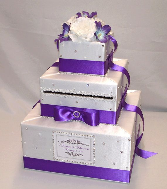Elegant Wedding Card Boxes Elegant Custom Made Wedding Card Box-lots ...