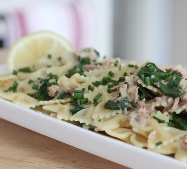 Lemony Tuna Pasta | food Ima gunna make | Pinterest