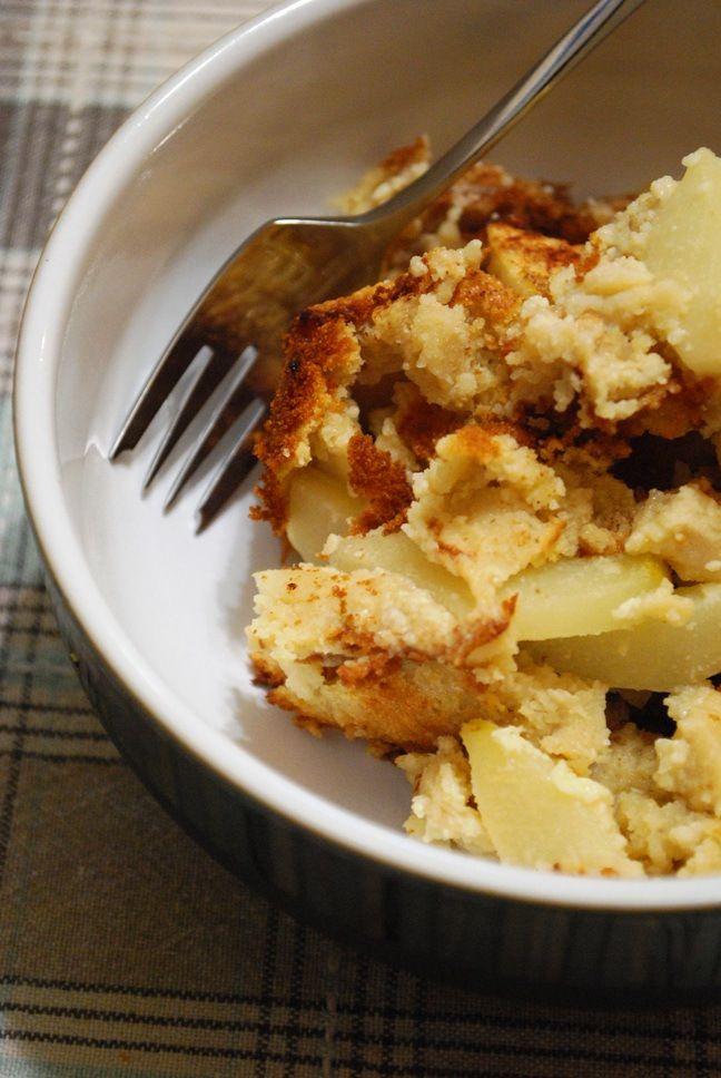 Gluten Free Pear Clafoutis | Naughty Sweet Treats | Pinterest