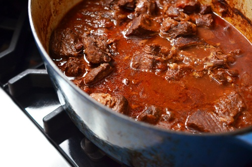 Oven-Braised Mexican Beef Recipe — Dishmaps