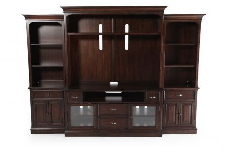 Hooker Turnbridge Wall Unit - Entertainment Center | #hooker # ...
