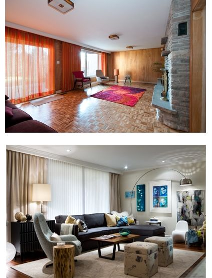 Before And After Room Makeovers Before After Room Makeovers Pinterest