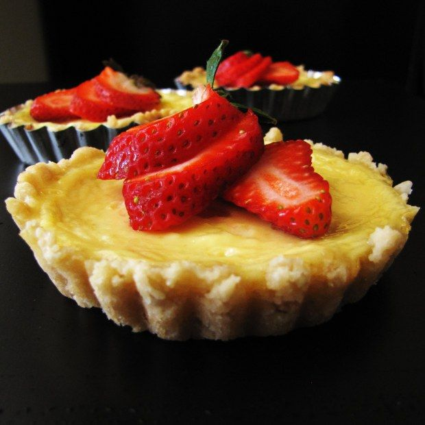 Yogurt Tartlets | Aide-mémoire | Pinterest