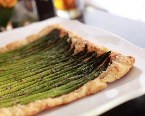 asparagus.tart6 | Recipes | Pinterest