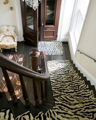 love the zebra rug