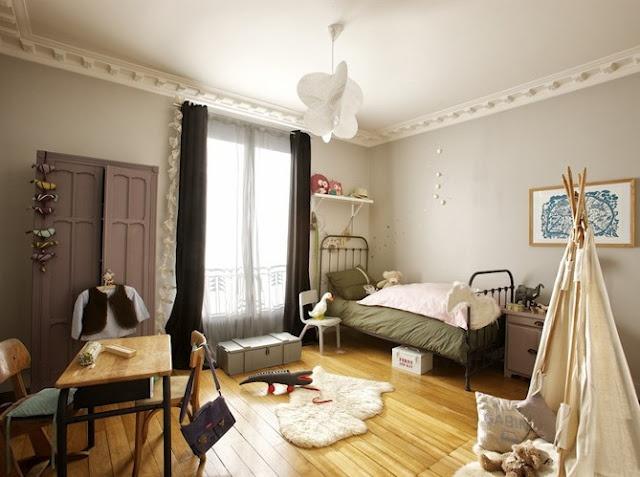 Chambre Bebe Garcon Gris Jaune : Eclectic Kids Rooms  NeverlandPeter Pan Nursery  Pinterest