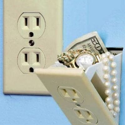 outlet safe....never would've thought of that!