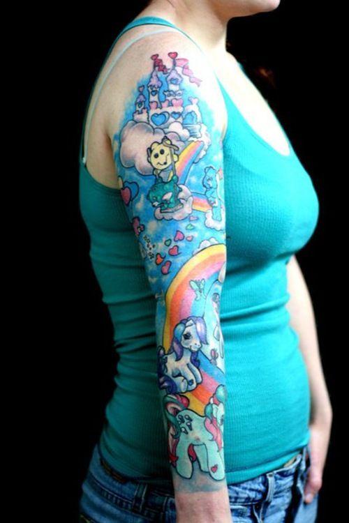 My little pony tattoo tattoos pinterest for My little pony tattoo