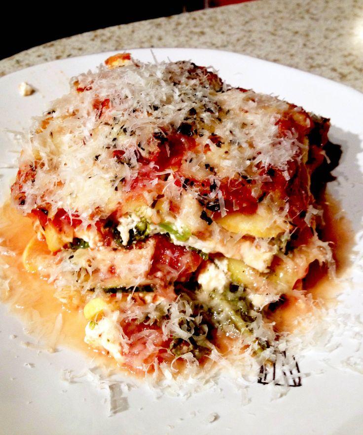 YumYumYum! Gluten free lasagna
