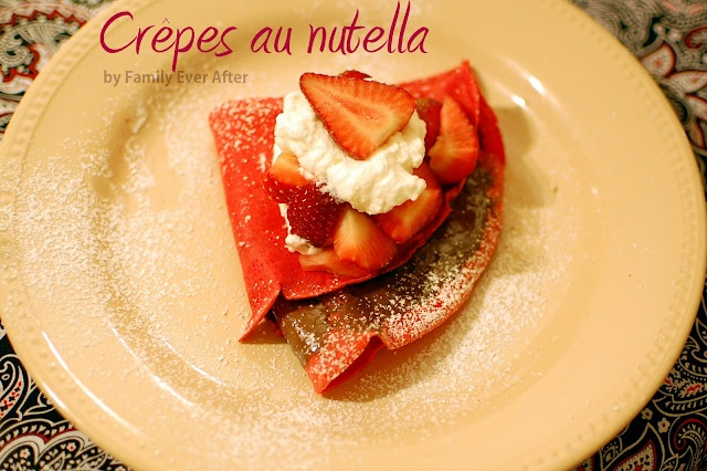 French Dessert Crepes - I wonder if I could get my husband to make ...