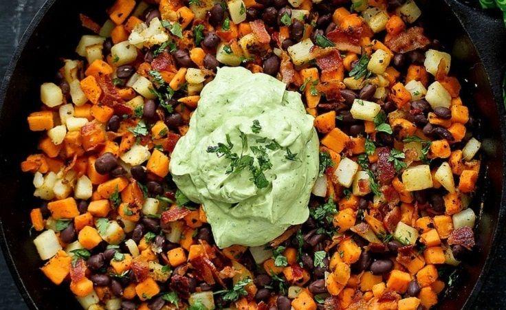 Sweet Potato Hash Recipe with Creamy California Avocado Sauce 15 # ...