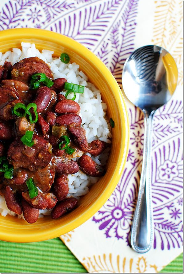 cajun red beans and rice with sausage | Just Add Some Butta To It Hon ...