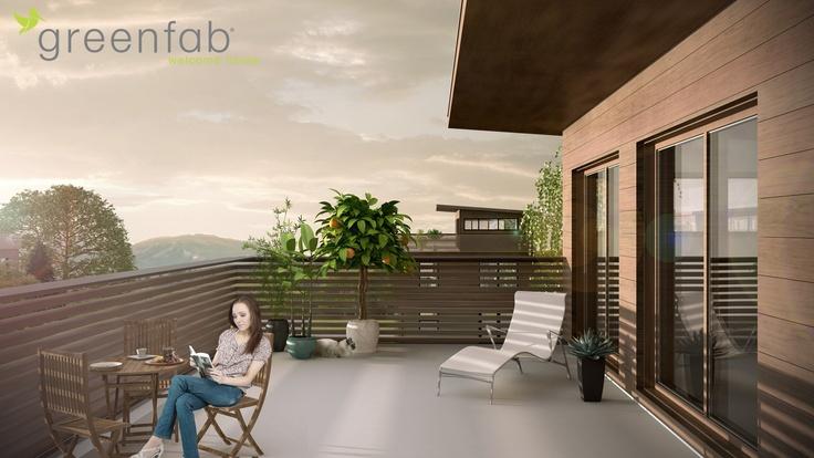 Greenfab 2100 Series, Deck View.