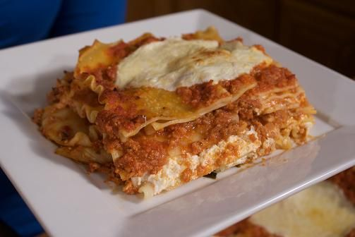 Three cheese lasagna | Pasta, Quinoa & Rice Dishes | Pinterest