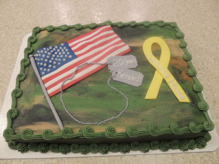 Welcome home cake ideas pinterest for Welcome home cake decorations