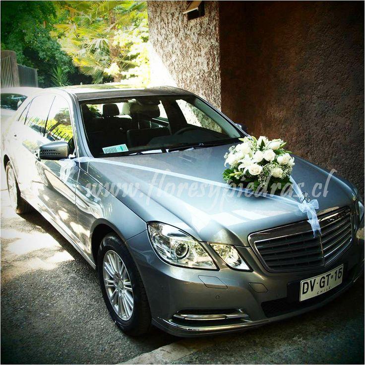 Decoraci n coches ramos de novia pinterest - Decoracion coche novia ...