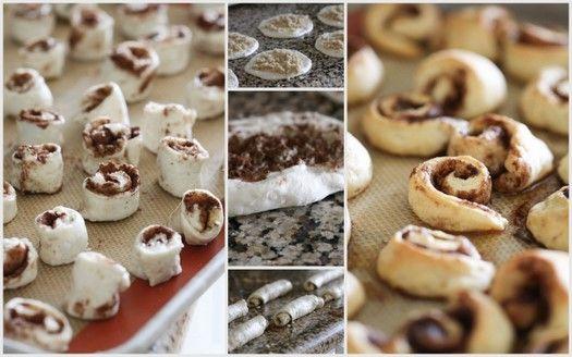 jenny flake itty bitty cinnamon rolls recipe via Where Women Cook