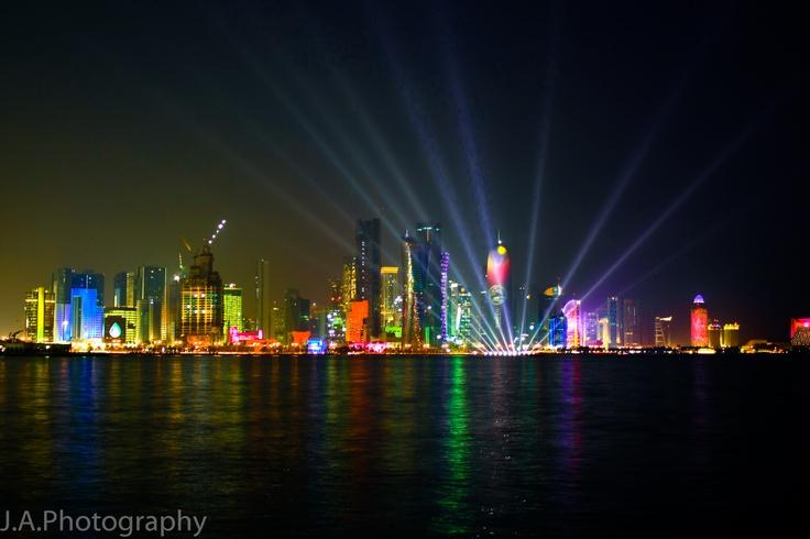 Doha Skyline - Qatar | Skylines | Pinterest