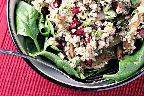 Quinoa, Fennel and Pomegranate Salad | Salads | Pinterest