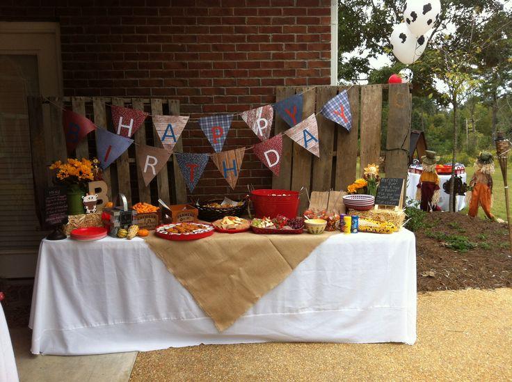 Backyard Barnyard : Backyard barnyard bash birthday party  Fair Kick Off Dance  Pintere