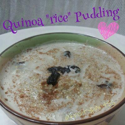... banana pudding banana pudding quinoa banana quinoa rice pudding quinoa