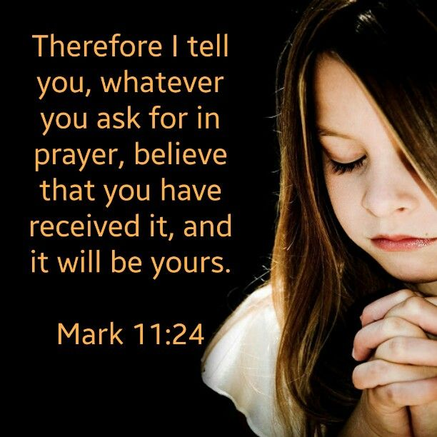 Image result for Mark 11:24