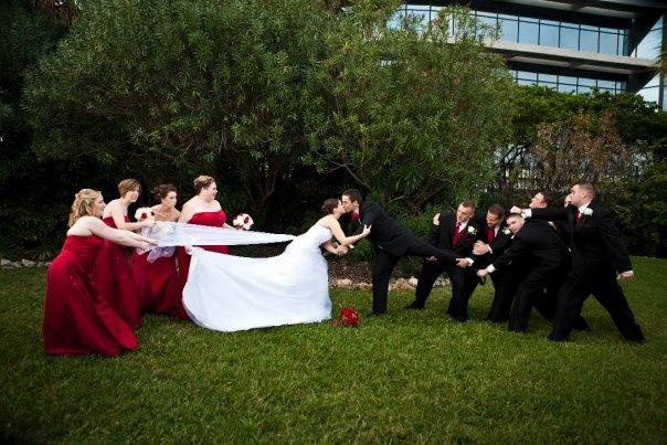 Fun wedding pic