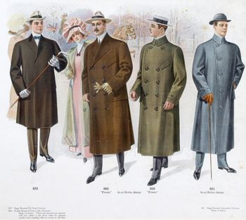 early 1900s fashion men - photo #12