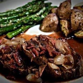 Beef Tenderloin With Roasted Shallots | Recipes - Meats & Meals | Pin ...