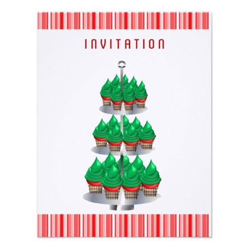 Holiday Afternoon Tea Invitation Christmas Tea Party
