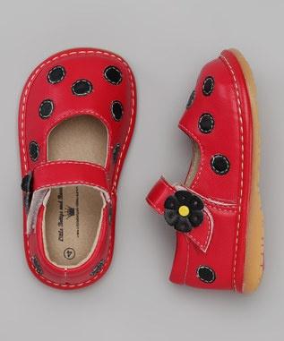 ladybug shoes - cute