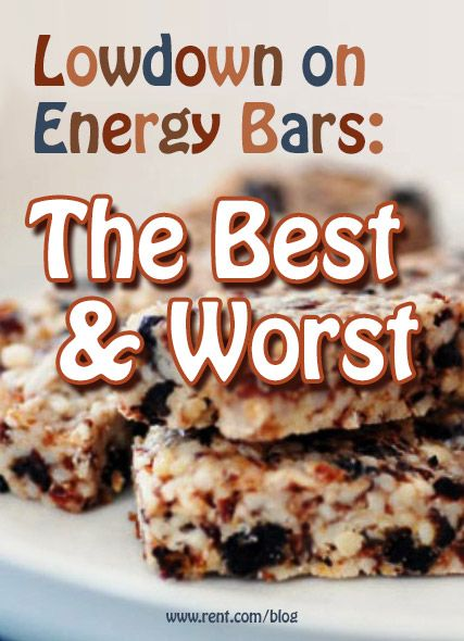 Energy bars are a hot commodity, but some have way too much sugar ...
