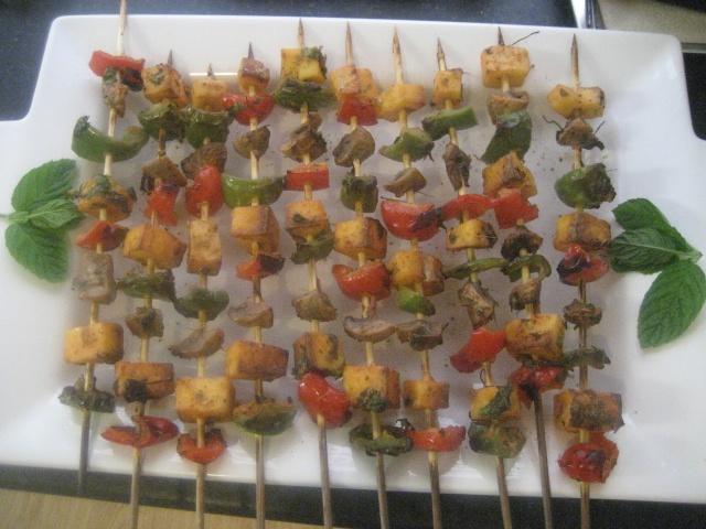 Tandoori paneer kebabs | Yummy! | Pinterest