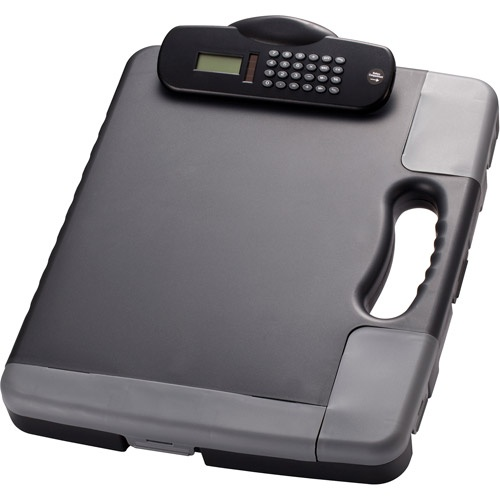 Officemate Portable Clipboard Case With Calculator