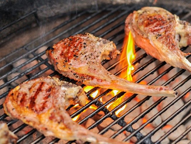 Perfectly Grilled Lamb Rib or Loin Chops | Fired Up | Pinterest