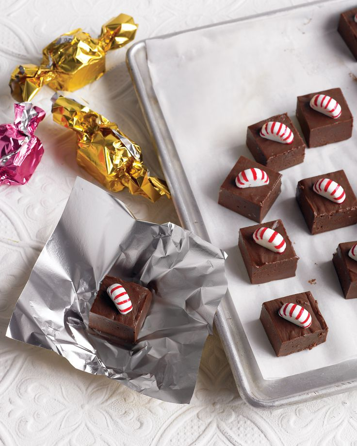 Peppermint fudge recipe. Probaly gonna make these too!