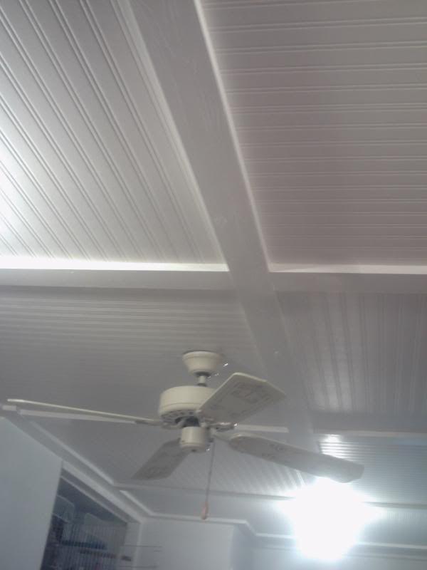 beadboard wallpaper on ceiling nautical baby room